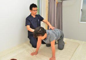 ぎっくり腰整体鹿児島施術